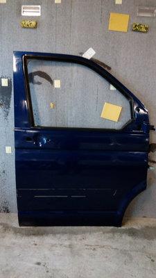 Voordeur T5 rechts blauw